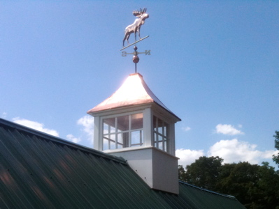 3 ft Cupola with copper roof