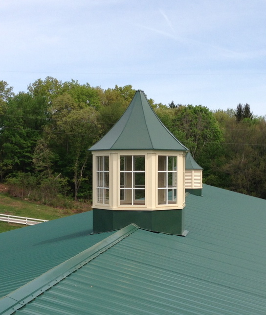 6ft Cupola with glass windows