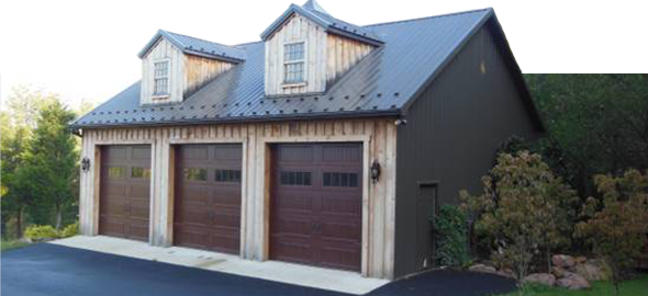 One & Two Story Garages