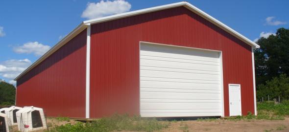 Custom Designed Pole Buildings, Garages, & Pole Barns