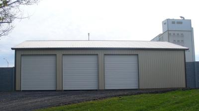 12ft x 12ft steel commercial doors