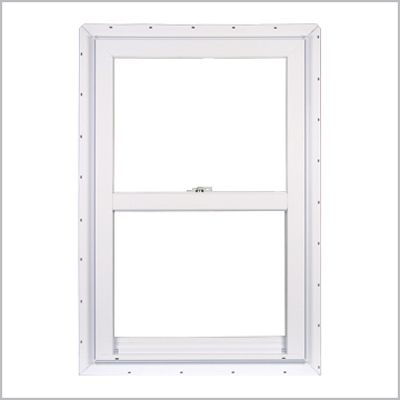 Typical single-hung vinyl window ( 2200 model series from Silverline)