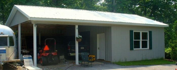 Carport and Shop