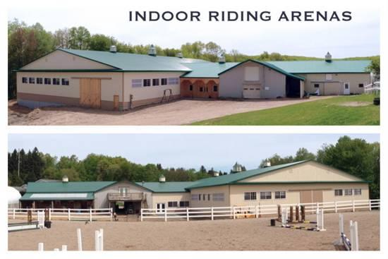 90x180x18 Indoor horse riding arena in Terryville, CT